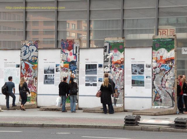 Restos del muro de Berlin