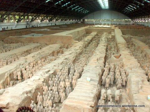 Guerreros de terracota de Xi'an